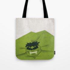 Paper Heroes - Hulk Tote Bag