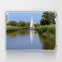 Sailing on the Norfolk Broads Laptop & iPad Skin