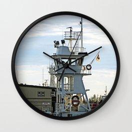 Ship passing Marine Operation Wall Clock