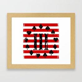 Three Percenter Aces USA Flag Framed Art Print