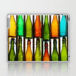 vintage coloured glass bottles Laptop & iPad Skin