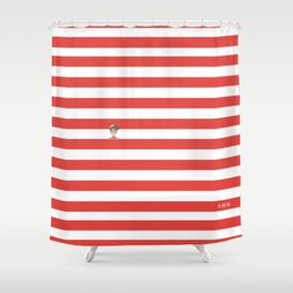 Dude.. I'm right here Shower Curtain