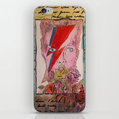 He Was Always There -- Bowie  iPhone & iPod Skin