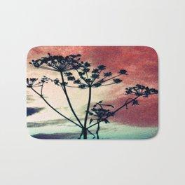 abstrackt flowers Bath Mat