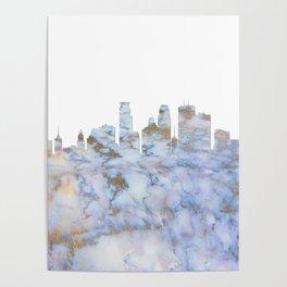 Minneapolis Skyline Minnesota Poster