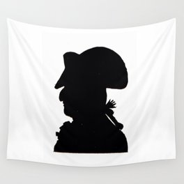 Pirate silhouette Wall Tapestry