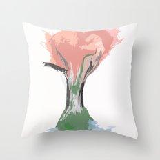 Tree of Autumn Throw Pillow
