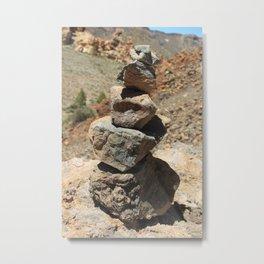 Little Rocks Metal Print