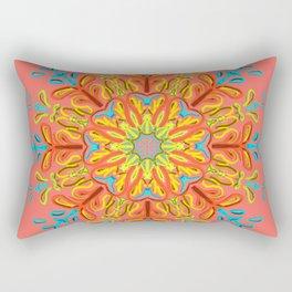 Gracias a la Vida (Coral) Rectangular Pillow