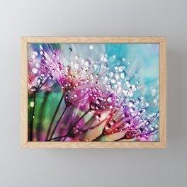 Dewdrops & Rainbows Framed Mini Art Print