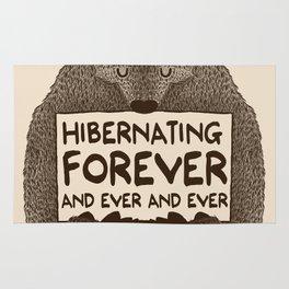 Hibernating Forever Rug