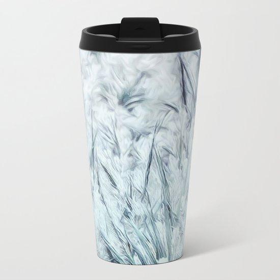 Tall Grass Metal Travel Mug
