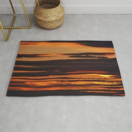 Golden Linings Sunset Rug