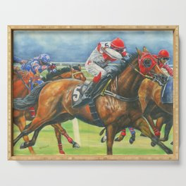 The Race Serving Tray