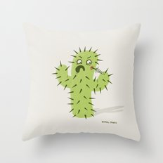 Infected Spine  Throw Pillow