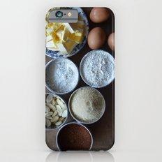 Cake ingredients Slim Case iPhone 6s