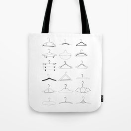 Hangers Tote Bag