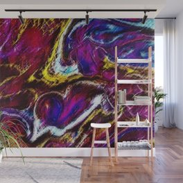 Ask Again, Yes - Abstract Painting by Jeanpaul Ferro Wall Mural
