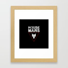 House Mars Framed Art Print