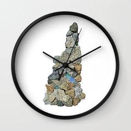 Heart Rock New Hampshire Wall Clock