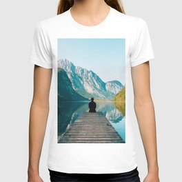 Deep in Thought - Beautiful Mountain Landscape Photography T-shirt
