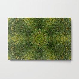Green Meadow Metal Print