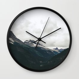 Mountain Valley Wall Clock