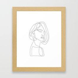 Flirty Framed Art Print