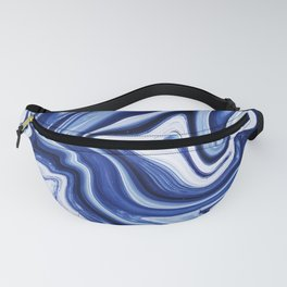 Melted Blueberry Fanny Pack