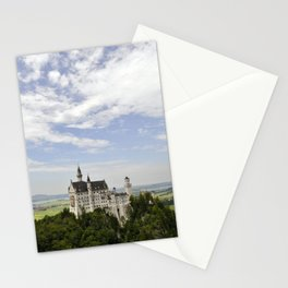 Bavarian Castle on the Hill (vertical) Stationery Cards