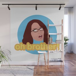 Oh Brother Wall Mural