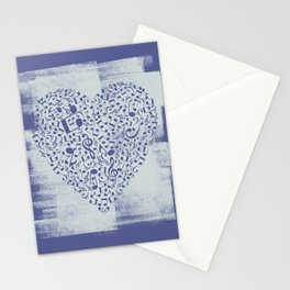 LoveMusic Stationery Cards