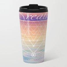 Breathe - Reminder Affirmation Mindful Quote Metal Travel Mug