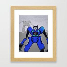 Citi Mecha Framed Art Print