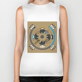 American Native Pattern No. 114 Biker Tank