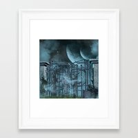 gothic Framed Art Prints featuring Gothic by nicky2342