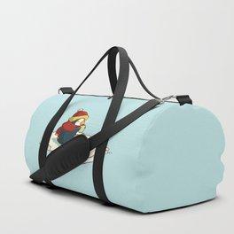 Happy penguin Duffle Bag