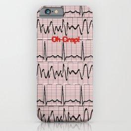 Cardiac Rhythm Strips EKG iPhone Case