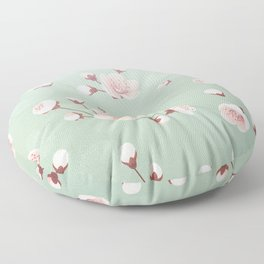 Cherry blossom,sakura,spring flower,Japanese cherry flower Floor Pillow