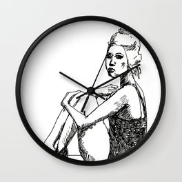 1__1voice$for one Wall Clock