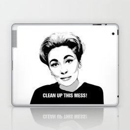 Mommie Dearest - Clean up this Mess! - Pop Art Laptop & iPad Skin