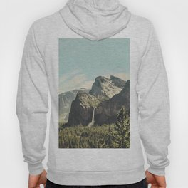 Yosemite Valley Waterfall Hoody