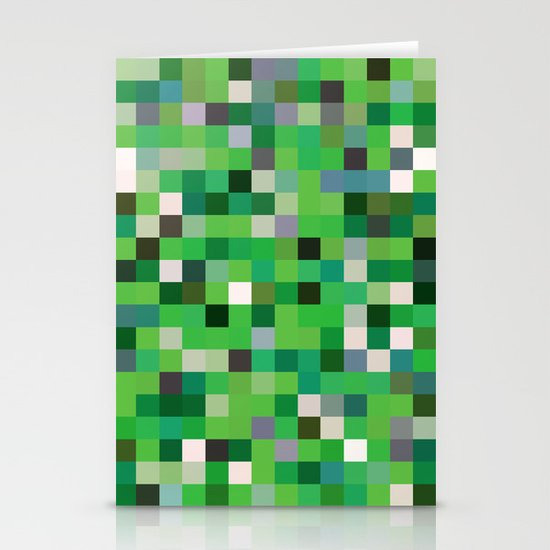 Pixel Painting Stationery Cards
