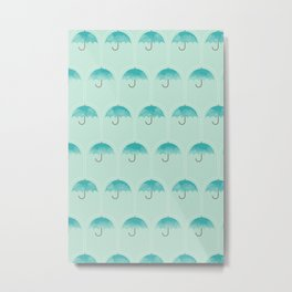 Umbrella Falls Metal Print