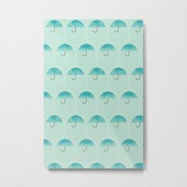 Umbrella Falls Metal Print