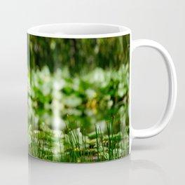 Great Egret in a Green Field Coffee Mug