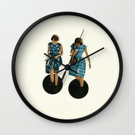 Quicksand Wall Clock