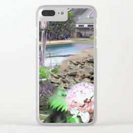 Stewart Island Collage Clear iPhone Case