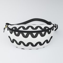 Squiggle pattern Fanny Pack