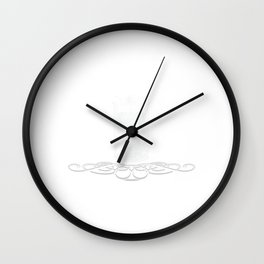 """Father's Tee For The Father's Day """"Dad Jokes? I Think You Mean Rad Jokes"""" Fathers Day T-shirt Design Wall Clock"""